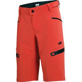 IXS Sever 6.1 BC Spodnie rowerowe Mężczyźni czerwony